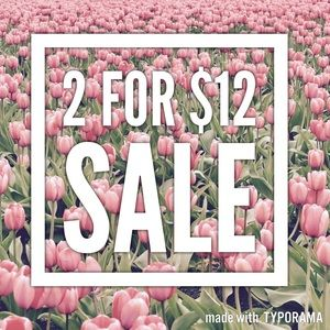 Other - 🎉2 for $12 Sale🎉