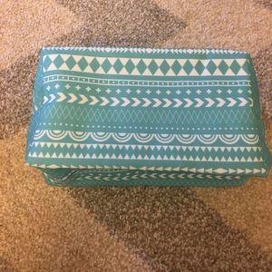 essie Handbags - NEW Blue Cosmetic Bag