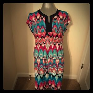 Laundry by Design Dresses & Skirts - Laundry By Design bright patterned dress