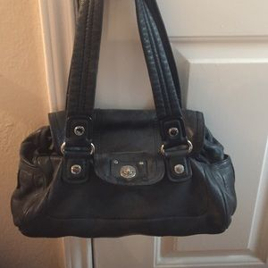 Marc Jacobs Black Leather Bag