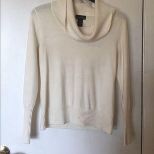 Petite Sophisticate Sweaters - Cream sweater