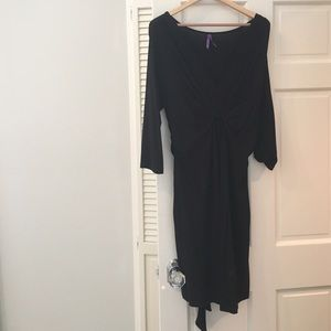 Seraphine Dresses & Skirts - Seraphine Black Maternity Dress