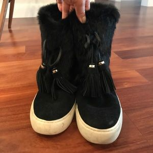 Tory Burch Shoes - Tory Burch fur boots