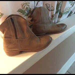 Diba Shoes - Diba Leather Ankle Boot