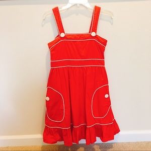 Macy's Dresses & Skirts - Macy's Red Sailor Dress
