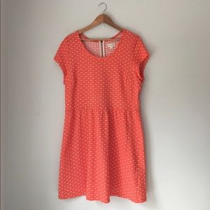 Maison Jules Dresses & Skirts - Maison Jules Orange Polkadot Dress