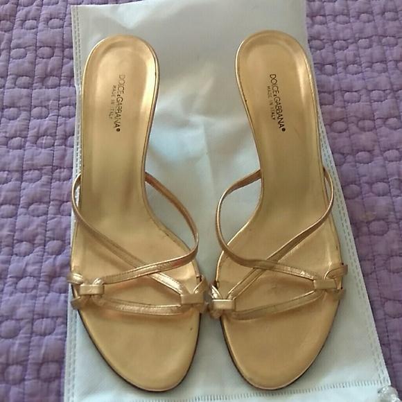 248db843a50 Dolce   Gabbana Shoes - Dolce   gabbana kitten heel sandals