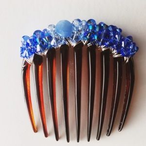 Colette Malouf Crystal Encrusted Comb
