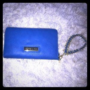 Olivia + Joy Handbags - Olivia and Joy Royal Blue Clutch