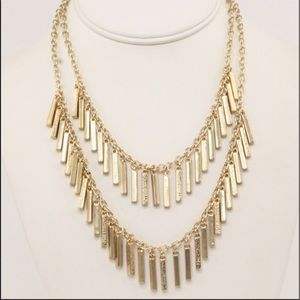 Adia Kibur Jewelry - Designer Adia Kibur Mini Sticks Layered Necklace