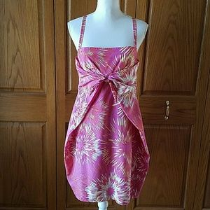 EUC Cynthia Steffe Silk Summer Poplin Dress