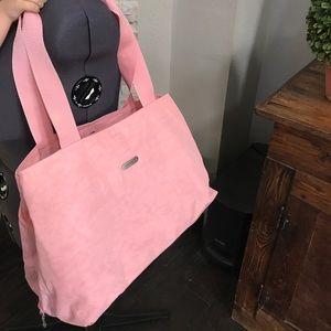 Baggallini Handbags - BAGGALLINI SRING🌸Pink Textured Tote🌸