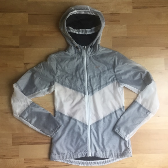 nike clear windbreaker