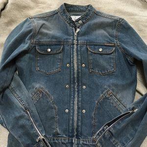 Calvin Klein Jeans Jackets & Blazers - Calvin Klein jeans motorcycle style jacket size M