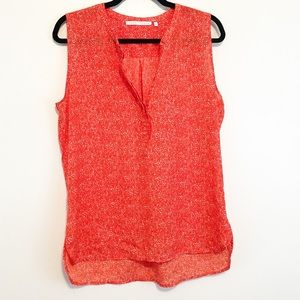 Violet & Claire Tops - Violet + Claire Orange Speckled Sleeveless Tank