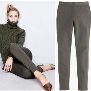 J. Crew Pants - J Crew pixie pant in olive green