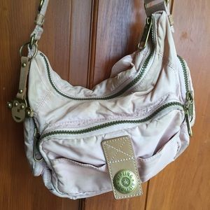 Kipling Handbags - Dusty beige pink Kipling with monkey