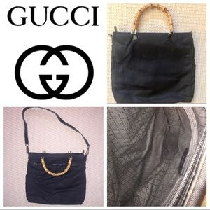 Gucci Handbags - Authentic Gucci bamboo handbag