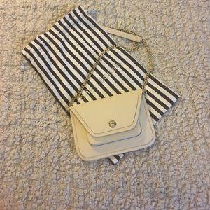 Henri Bendel Mini Saffiano Crossbody Bag