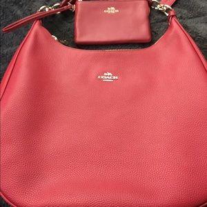 Coach Handbags - AUTHENTIC COACH PURSE AND WALLET