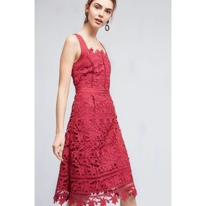 Anthropologie Dresses - Anthropologie HD in Paris raspberry dress size 12
