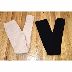 GREAT BUNDLE!!! Two Freckles Cable Knit Leggings