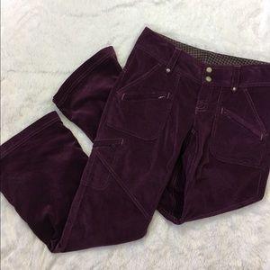 Athleta Pants - Athleta purple cargo pants