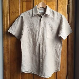 Uniqlo Tops - 30%OFF BUNDLES Uniqlo Tan Safari Shirt EUC