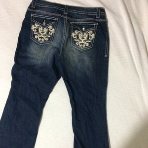 a.n.a. Plus Size Embellished Jeans