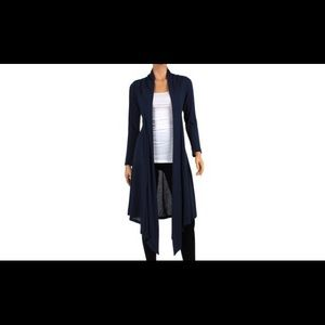Rags and Couture Sweaters - Knee length cardigan