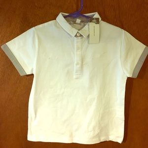 3Pommes Other - White polo short sleeve shirt