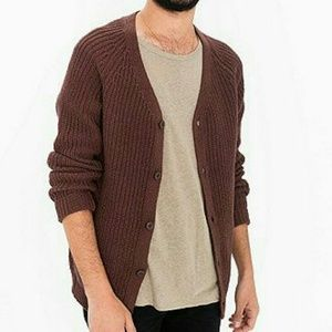 American Apparel Other - ❤ NWT Men Recycled Cotton Fisherman Cardigan