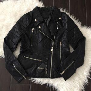 Blank NYC Jackets & Blazers - Blank NYC faux leather Moto jacket. Moto jacket