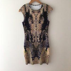 Alexander McQueen Dresses & Skirts - Alexander McQueen Snake Print Dress