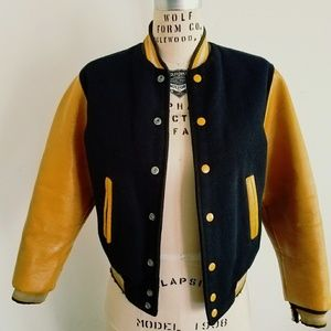 🎉Street Style, HP🎉 VINTAGE 1950S VARSITY JACKET