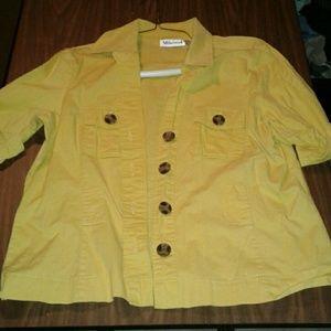 millenium Tops - Yellow top