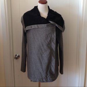 lululemon athletica Jackets & Blazers - Lululemon Button Up Funnel Neck Jacket