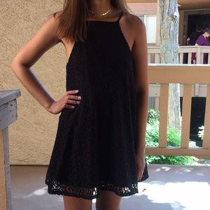Dresses & Skirts - Simple Black Halter Dress