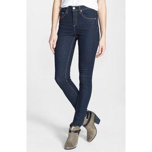 NWOT. Rag & Bone High-Rise Skinny Jeans.