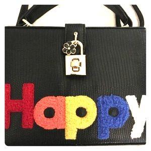 Pink Haley Handbags - HAPPY box crossbody purse!