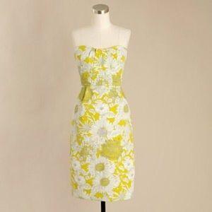 J. Crew Dresses & Skirts - J. Crew Rare Erica Floral Printed Strapless Dress