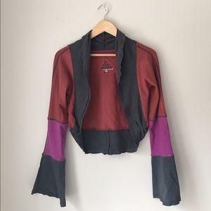 Prana Tops - Prana Multicolor Hemp Shrug Cardigan Size M