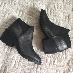 Eileen Fisher 'Dome' Gray Ankle Bootie