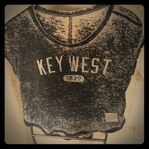 Original Retro Brand Tops - KEY WEST crop tee
