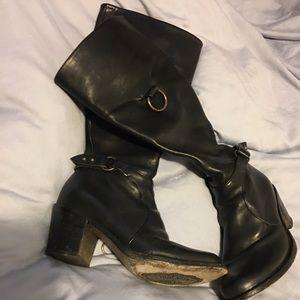 Fiorentini + Baker Shoes - Fiorentini and baker moto boots