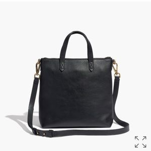 Madewell Handbags - Madewell Black Mini Zip Transport Crossbody