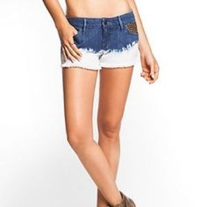 Guess Denim - Guess Jeans Kate Indigo Sensation Wash Shorts