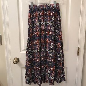 Active Skirts - Gorgeous Printed Full Maxi Skirt