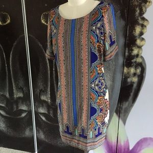 Swell Dresses & Skirts - SWELL Shift Ethnic Patterned Dress