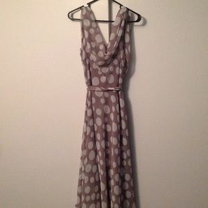 MSK Dresses & Skirts - MSK Cowl Neck Dress (Size 12)